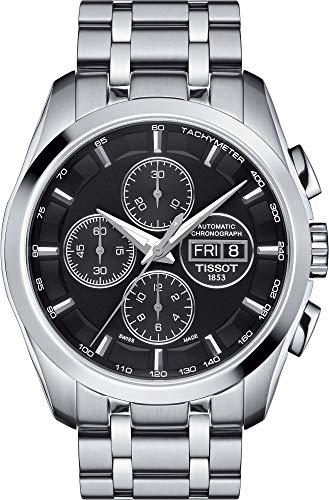 腕時計 ティソ メンズ 【送料無料】Tissot Couturier Chronograph Automatic Mens Watch T0356141105101腕時計 ティソ メンズ