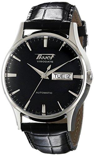 ティソ 腕時計 メンズ TIST0194301605101 【送料無料】Tissot Men's T0194301605101 Visodate Black Dial Watchティソ 腕時計 メンズ TIST0194301605101