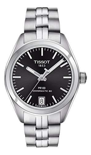 ティソ 腕時計 レディース 【送料無料】Tissot PR 100 Powermatic Black Dial Ladies Watch T1012071105100ティソ 腕時計 レディース