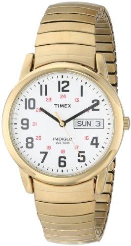 タイメックス 腕時計 メンズ T20471 【送料無料】Timex Men's T20471 Easy Reader 35mm Gold-Tone Stainless Steel Expansion Band Watchタイメックス 腕時計 メンズ T20471