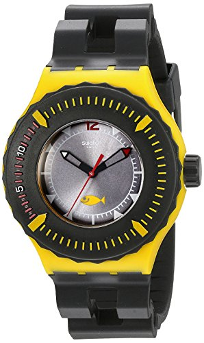スウォッチ 腕時計 メンズ SUUJ100 Swatch Unisex SUUJ100 Originals Analog Display Swiss Quartz Black Watchスウォッチ 腕時計 メンズ SUUJ100