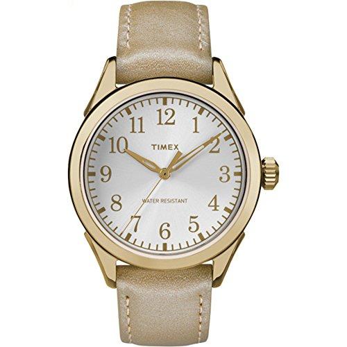 タイメックス 腕時計 レディース TW2P99300 【送料無料】Timex Women's TW2P99300 Briarwood Terrace Light Gold Leather Strap Watchタイメックス 腕時計 レディース TW2P99300