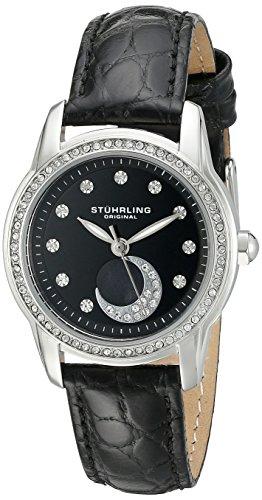 ストゥーリングオリジナル 腕時計 レディース 561.02 Stuhrling Original Women's 561.02 Countess Analog Display Quartz Black Watchストゥーリングオリジナル 腕時計 レディース 561.02