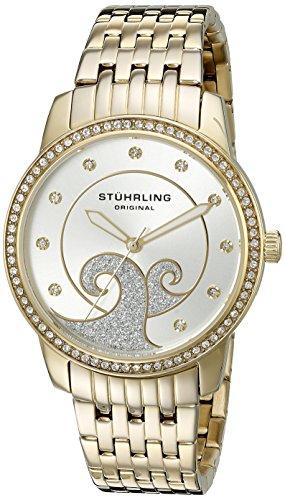 ストゥーリングオリジナル 腕時計 レディース 569.04 【送料無料】Stuhrling Original Women's 569.04 Coronet Analog Display Quartz Gold Watchストゥーリングオリジナル 腕時計 レディース 569.04