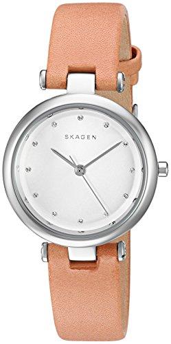 スカーゲン 腕時計 レディース SKW2455 【送料無料】Skagen Women's SKW2455 Tanja Light Brown Leather Watchスカーゲン 腕時計 レディース SKW2455
