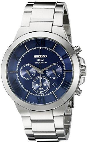 セイコー 腕時計 メンズ SSC281 Seiko Men's SSC281 Analog Display Japanese Quartz Silver Watchセイコー 腕時計 メンズ SSC281