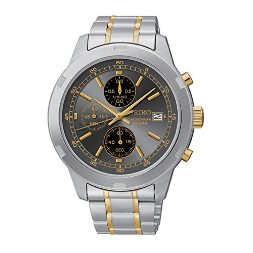 セイコー 腕時計 メンズ SKS425 Seiko Chronograph Silver and Gold-Tone Stainless Steel Men's watch #SKS425セイコー 腕時計 メンズ SKS425