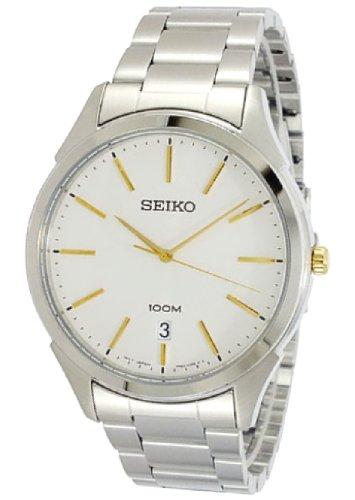 セイコー 腕時計 メンズ SGEG71 【送料無料】Seiko SGEG71 Mens Classic Stainless Steel Case and Bracelet Silver Tone Dial Date Displayセイコー 腕時計 メンズ SGEG71