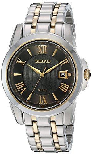 セイコー 腕時計 メンズ SNE398 Seiko Men's SNE398 LGS Solar Analog Display Japanese Quartz Two Tone Watchセイコー 腕時計 メンズ SNE398