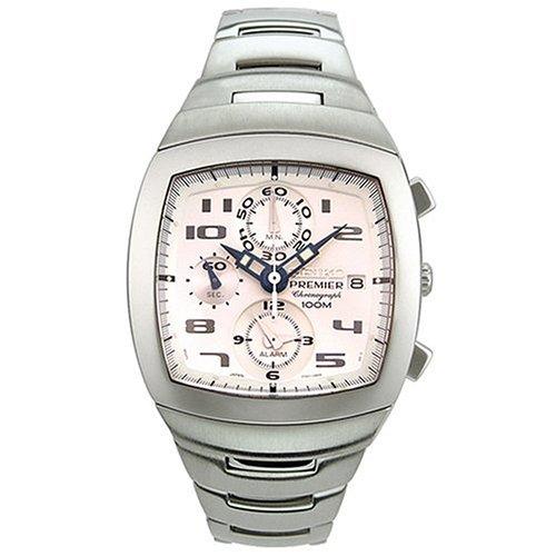 """セイコー 腕時計 メンズ SNA143 【送料無料】Seiko Men""""s SNA143 Premier Chronograph Watchセイコー 腕時計 メンズ SNA143"""