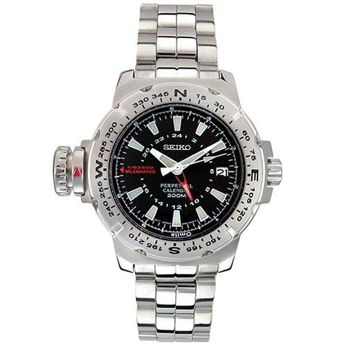 セイコー 腕時計 メンズ SLT095 【送料無料】Seiko Men's SLT095 Milemarker Perpetual Calendar Watchセイコー 腕時計 メンズ SLT095