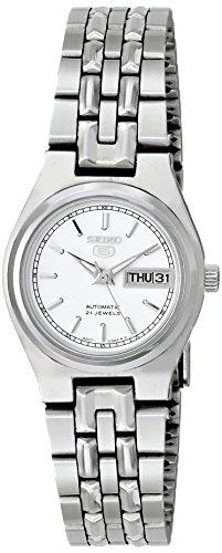 セイコー 腕時計 レディース SYM787K Seiko Women's SYM787K Seiko 5 Automatic White Dial Stainless Steel Watchセイコー 腕時計 レディース SYM787K