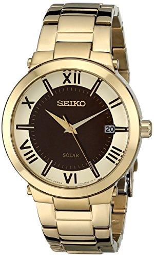 """セイコー 腕時計 レディース SNE884 【送料無料】Seiko Women""""s SNE884 Analog Display Japanese Quartz Gold Watchセイコー 腕時計 レディース SNE884"""