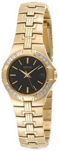 セイコー 腕時計 レディース SXDA44 【送料無料】Seiko Women's SXDA44 Diamond Gold-Tone Watchセイコー 腕時計 レディース SXDA44