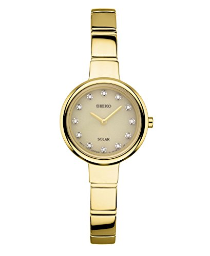 腕時計 セイコー レディース SUP366 【送料無料】Seiko Women's Jewelry Bangle Japanese-Quartz Watch with Stainless-Steel Strap, Gold, 7 (Model: SUP366)腕時計 セイコー レディース SUP366
