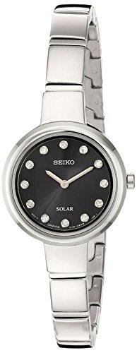 セイコー 腕時計 レディース SUP365 Seiko Women's Jewelry Bangle Japanese-Quartz Watch with Stainless-Steel Strap, Silver, 7 (Model: SUP365)セイコー 腕時計 レディース SUP365