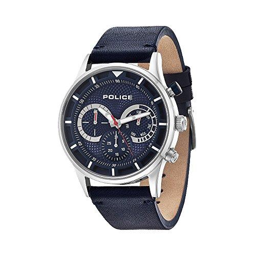 腕時計 ポリス メンズ 14383JS/03 【送料無料】Police 14383JS-03 Mens Driver Blue Chronograph Watch腕時計 ポリス メンズ 14383JS/03