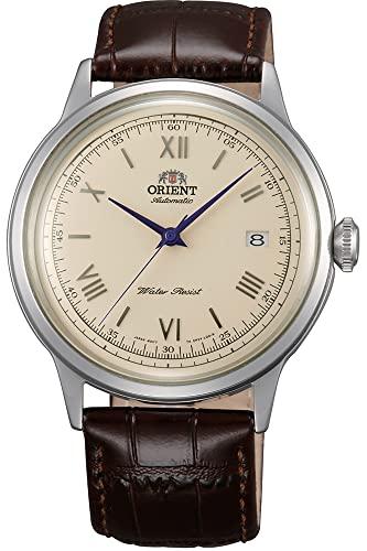 オリエント 腕時計 メンズ FAC00009N0 【送料無料】Orient Men's 2nd Gen. Bambino Ver. 2 Stainless Steel Japanese-Automatic Watch with Leather Strap, Brown, 21 (Model: FAC00009N0)オリエント 腕時計 メンズ FAC00009N0