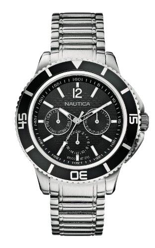 ノーティカ 腕時計 メンズ A19591G Nautica A19591G - Men's Watch, Stainless Steel inox, Color: Silverノーティカ 腕時計 メンズ A19591G