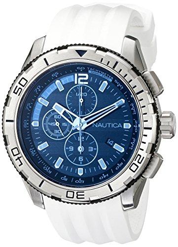 ノーティカ 腕時計 メンズ NAD19521G 【送料無料】Nautica Men's NAD19521G NST 101 Analog Display Japanese Quartz White Watchノーティカ 腕時計 メンズ NAD19521G