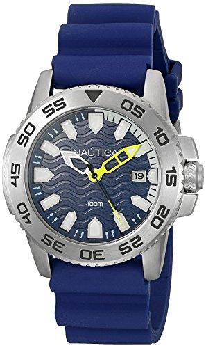 ノーティカ 腕時計 メンズ NAD12527G Nautica Men's NAD12527G NSR 20 Analog Display Quartz Blue Watchノーティカ 腕時計 メンズ NAD12527G