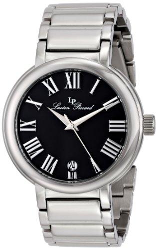 ルシアンピカール 腕時計 メンズ LP-11313-11 【送料無料】Lucien Piccard Men's LP-11313-11 Marbella Analog Display Japanese Quartz Silver Watchルシアンピカール 腕時計 メンズ LP-11313-11