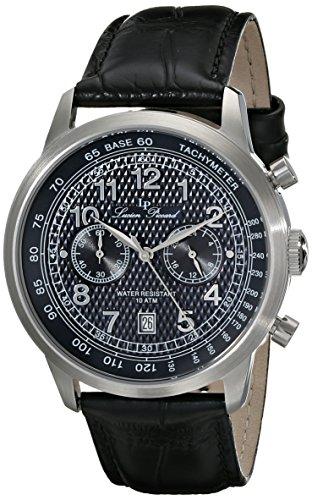 ルシアンピカール 腕時計 メンズ LP-10526-03 Lucien Piccard Men's LP-10526-03 Ferden Analog Display Japanese Quartz Black Watchルシアンピカール 腕時計 メンズ LP-10526-03