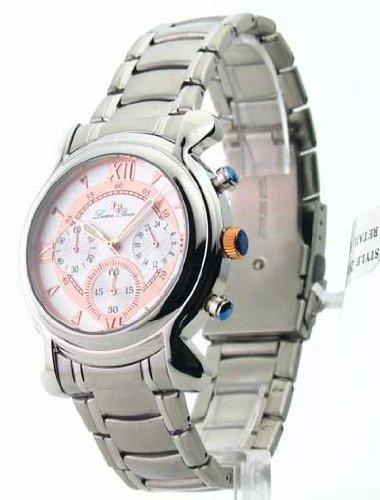ルシアンピカール 腕時計 メンズ 28167RO 【送料無料】Mens Lucien Piccard Steel Chrono Watch 28167ROルシアンピカール 腕時計 メンズ 28167RO
