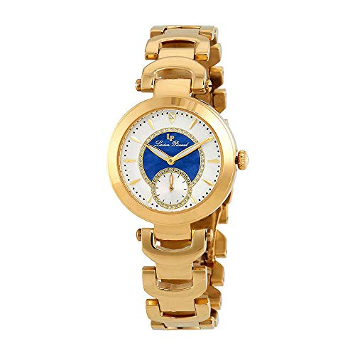 ルシアンピカール 腕時計 レディース LP-10268-YG-22-BLA Lucien Piccard Women's Casablanca Quartz Watch with Stainless-Steel Strap, Gold, 18 (Model: LP-10268-YG-22-BLA)ルシアンピカール 腕時計 レディース LP-10268-YG-22-BLA