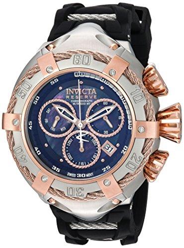 インヴィクタ インビクタ リザーブ 腕時計 メンズ 21349 Invicta Men's Bolt Stainless Steel Quartz Watch with Silicone Strap, Black, 26 (Model: 21349)インヴィクタ インビクタ リザーブ 腕時計 メンズ 21349