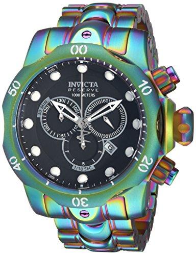 インヴィクタ インビクタ リザーブ 腕時計 メンズ 19764 【送料無料】Invicta Men's Reserve Quartz Watch with Stainless-Steel Strap, Multi, 26 (Model: 19764)インヴィクタ インビクタ リザーブ 腕時計 メンズ 19764