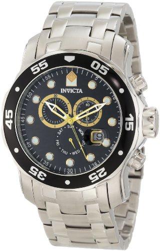 """インヴィクタ インビクタ プロダイバー 腕時計 メンズ 10372 【送料無料】Invicta Men""""s 10372 Pro Diver Chronograph Black Dial Watchインヴィクタ インビクタ プロダイバー 腕時計 メンズ 10372"""