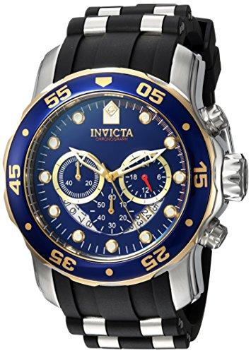 インヴィクタ インビクタ プロダイバー 腕時計 メンズ 22971 【送料無料】Invicta Men's Pro Diver Stainless Steel Quartz Watch with Silicone Strap, Black, 26 (Model: 22971)インヴィクタ インビクタ プロダイバー 腕時計 メンズ 22971
