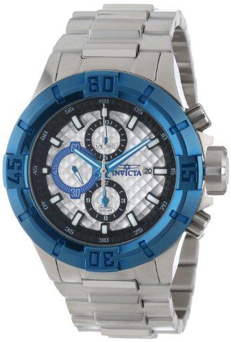 インヴィクタ インビクタ プロダイバー 腕時計 メンズ 12374 【送料無料】Invicta Men's 12374 Pro Diver Chronograph Silver Textured Dial Stainless Steel Watchインヴィクタ インビクタ プロダイバー 腕時計 メンズ 12374