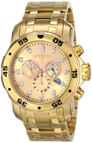 インヴィクタ インビクタ プロダイバー 腕時計 メンズ 80071 【送料無料】Invicta Men's 80071 Pro Diver Analog Display Swiss Quartz Gold Watchインヴィクタ インビクタ プロダイバー 腕時計 メンズ 80071