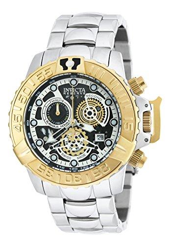 インヴィクタ インビクタ サブアクア 腕時計 メンズ 20525 【送料無料】Invicta Men's Subaqua Swiss-Quartz Watch with Stainless-Steel Strap, Silver, 24 (Model: 20525)インヴィクタ インビクタ サブアクア 腕時計 メンズ 20525