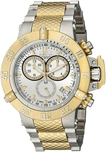 インヴィクタ インビクタ サブアクア 腕時計 メンズ 15947 【送料無料】Invicta Men's 15947 Subaqua Analog Display Swiss Quartz Two Tone Watchインヴィクタ インビクタ サブアクア 腕時計 メンズ 15947