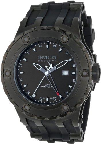 インヴィクタ インビクタ サブアクア 腕時計 メンズ 12043 【送料無料】Invicta Men's 12043 Subaqua Reserve GMT Black Dial Black Rubber Watchインヴィクタ インビクタ サブアクア 腕時計 メンズ 12043