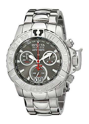 インヴィクタ インビクタ サブアクア 腕時計 メンズ 10645 【送料無料】Invicta Men's 10645 Subaqua Noma II Chronograph Grey Dial Stainless Steel Watchインヴィクタ インビクタ サブアクア 腕時計 メンズ 10645
