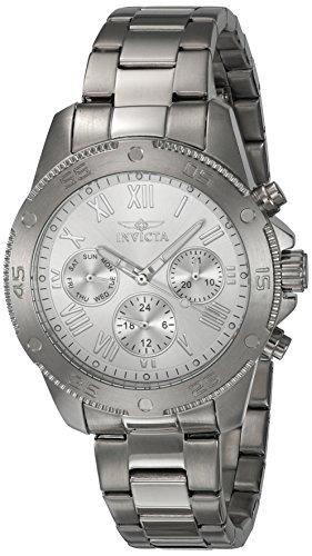 インヴィクタ インビクタ 腕時計 レディース 21730 Invicta Women's Wildflower Quartz Watch with Stainless-Steel Strap, Silver, 18 (Model: 21730)インヴィクタ インビクタ 腕時計 レディース 21730