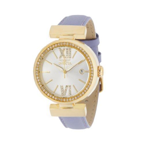 インヴィクタ インビクタ 腕時計 レディース 15543 【送料無料】Invicta Wildflower Leather Crystal Ladies Watch - Blueインヴィクタ インビクタ 腕時計 レディース 15543