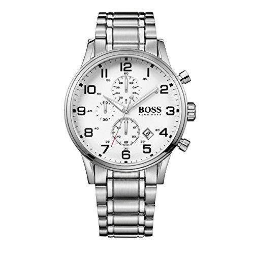ヒューゴボス 高級腕時計 メンズ 1513182 Hugo Boss Watches Men's Aeroliner Watch (White)ヒューゴボス 高級腕時計 メンズ 1513182
