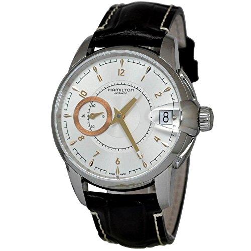 """ハミルトン 腕時計 メンズ H40615555 【送料無料】Hamilton Timeless Classic Railroad Petite Seconde Silver Dial Men""""s watch #H40615555ハミルトン 腕時計 メンズ H40615555"""
