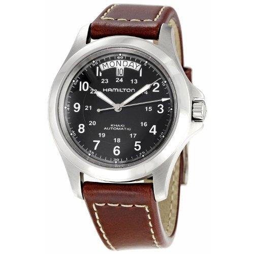 ハミルトン 腕時計 メンズ H64455533 【送料無料】Hamilton Khaki King Automatic Mens Watchハミルトン 腕時計 メンズ H64455533