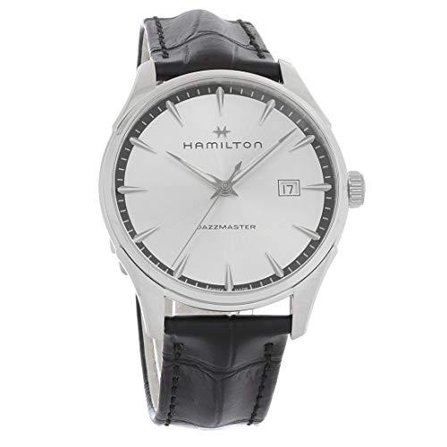 ハミルトン 腕時計 メンズ 【送料無料】Hamilton Jazzmaster Silver Dial Men's Watch H32451751ハミルトン 腕時計 メンズ