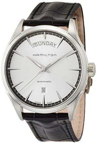 腕時計 ハミルトン メンズ H42565751 【送料無料】Hamilton Men's H42565751 Automatic Silver Dial Stainless Steel Leather Watch腕時計 ハミルトン メンズ H42565751