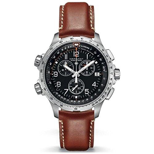 ハミルトン 腕時計 メンズ H77912535 【送料無料】Hamilton Khaki Aviation Quartz Movement Black Dial Men's Watch H77912535ハミルトン 腕時計 メンズ H77912535