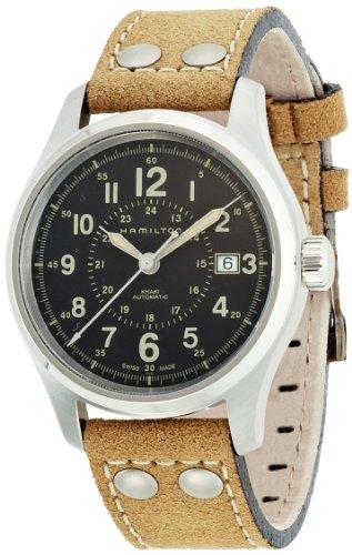 腕時計 ハミルトン メンズ H42615753 【送料無料】Hamilton Men's H70595593 Khaki Field Analog Display Swiss Automatic Brown Watch腕時計 ハミルトン メンズ H42615753