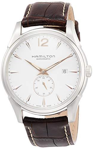 腕時計 ハミルトン メンズ H38511733 【送料無料】Hamilton Men's H38655515 Jazzmaster Slim White Dial Watch腕時計 ハミルトン メンズ H38511733