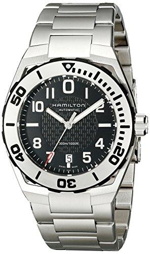 メンズ メンズ Watch腕時計 Sub Khaki ハミルトン H78615135 Automatic Wind Display 【送料無料】Hamilton Silver 腕時計 H78615135 Men's Analog Navy H78615135 ハミルトン Self